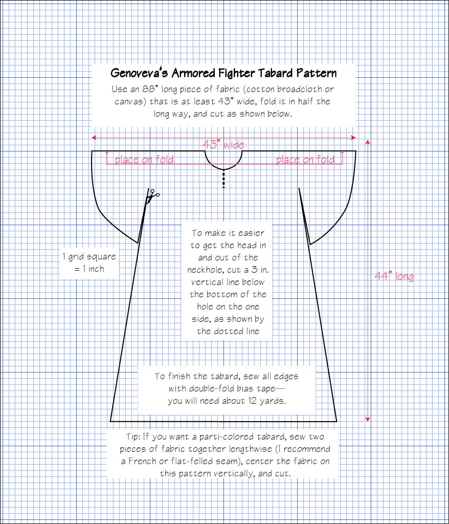 Tabard Pattern Best Design Ideas