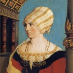Portrait of Dorothea Kannengiesser Meyer by Hans Holbein the Younger (1516)