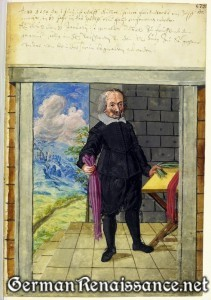 Der Zopfmacher (Braid Maker) - Hausbuch der Landauerschen Zwölfbrüderstiftung, Band 1. Nürnberg 1511-1706