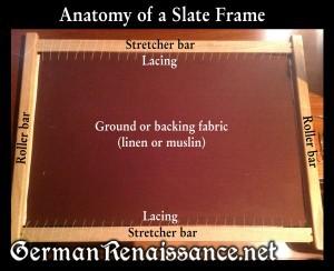 slate-frame-parts