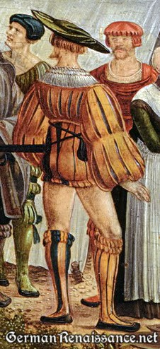 Detail from Michal Feselen's History of Cloelia - 1529