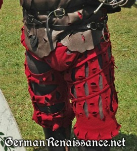 Gregor's red hosen