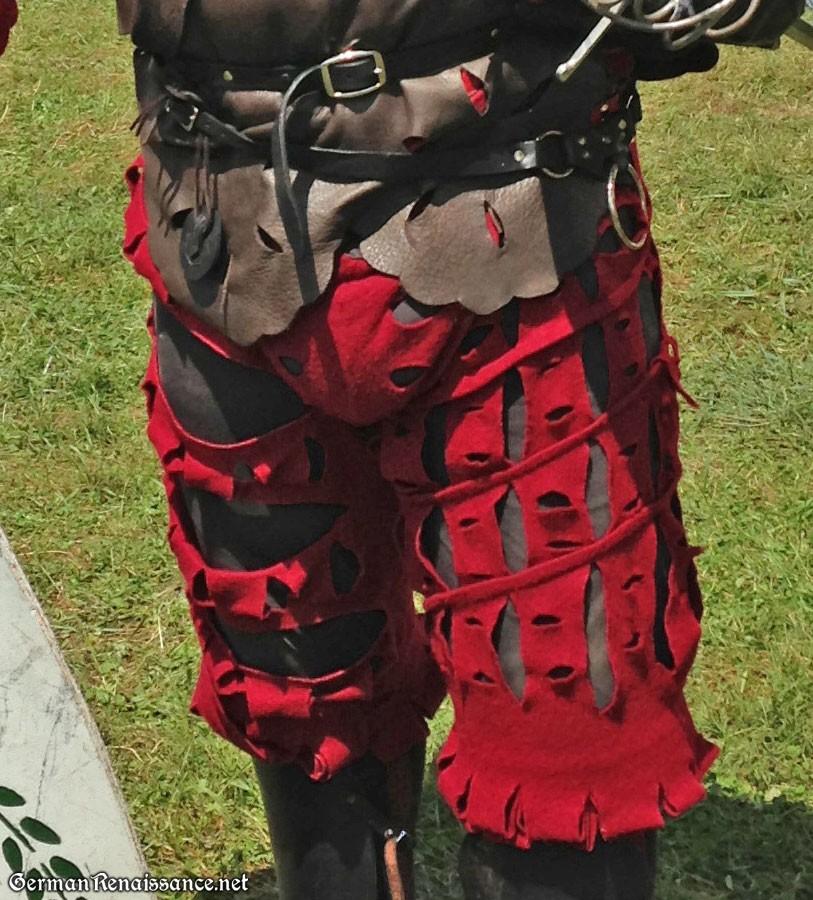 0a618a53941d1 Landsknecht Hosen  How I Make Gregor s Slashed German Trousers ...
