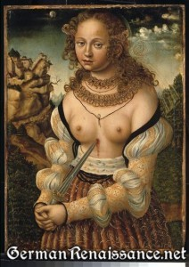 Suicide of Lucretia by Lucas Cranach (location unknown)