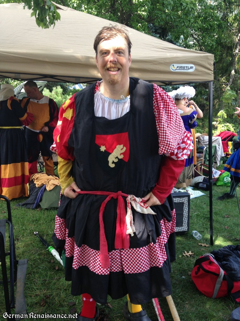 Master Konrad at the German American Festival