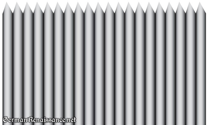 pointed-pleats